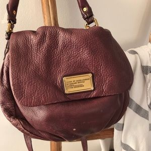 Pebbled leather Marc Jacobs bag.